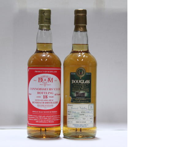 Benriach-18 year old -1987Benriach-18 year old  -1990/2008