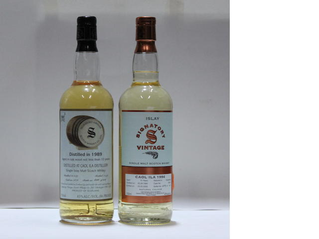 Caol Ila-10 year old  -1989/1999Caol Ila-10 year old-1994/2005