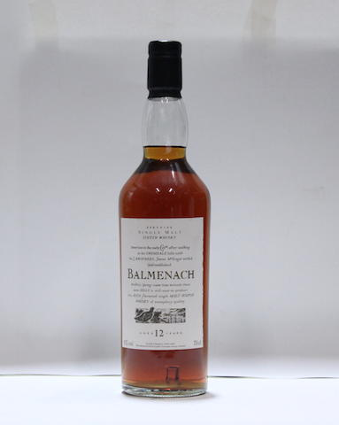 Balmenach-12 year old