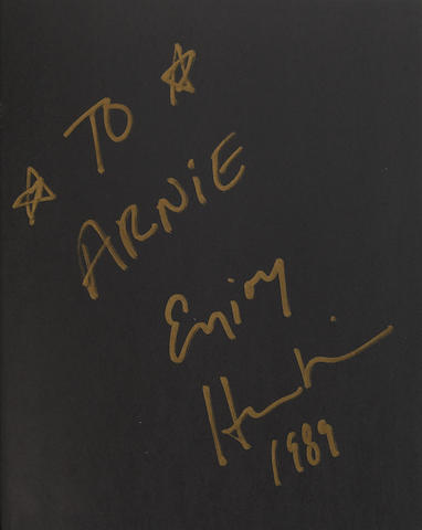 A Herb Ritts inscribed and signed copy of Men/Women