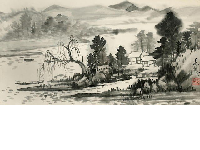 Ink Landscape Song Meiling (1898-2003)