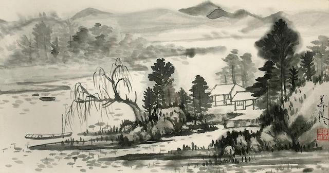 Ink Landscape Song Meiling (1898-2003)