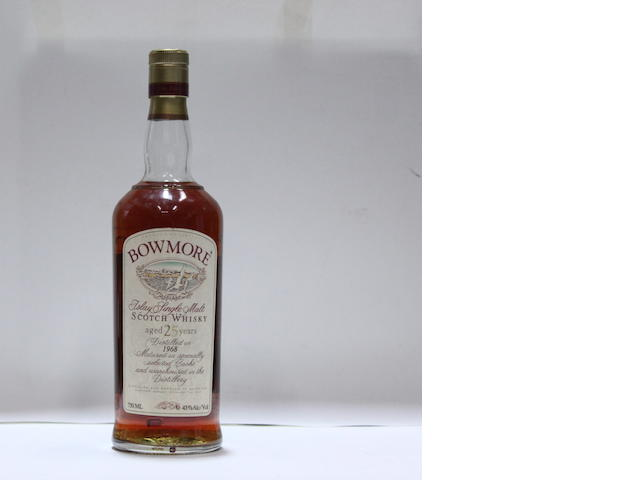 Bowmore-25 year old-1968