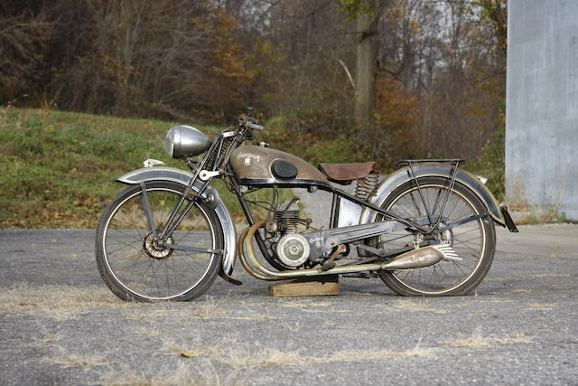 1939 Peugeot 100cc Type 53CHL Frame no. 375489 Engine no. T1PE520