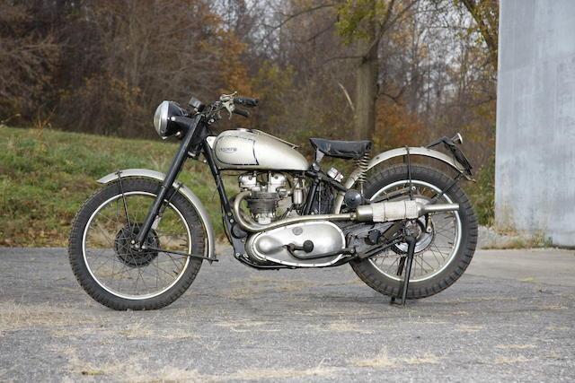 1952 Triumph Trophy TR5 Frame no. 26085 Engine no. TR526085