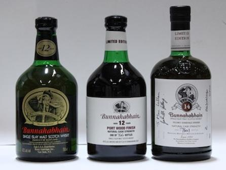 Bunnahabhain- 12 year old (2)   Bunnahabhain- 12 year old  Bunnahabhain- 14 year old