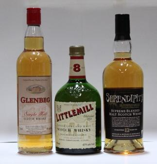 Littlemill-8 year old (2)GlenbegSerendipity-12 year old