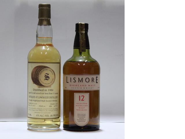Linkwood-11 year old-1984Lismore