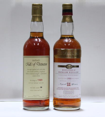 Macallan-11 year old-1988Macallan-1989