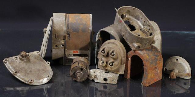 A Splitdorf Model F magneto for a four-cylinder Indian,