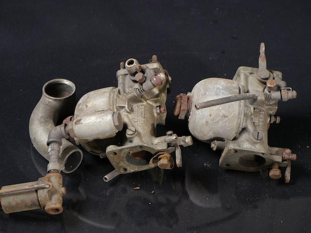 Two L&L carburetors, Model 1 MOD M,