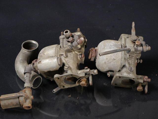 Two L&L carburetors, Model 1 MOD M,