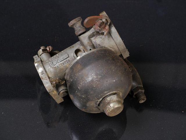 A Schebler carburetor, DLX.