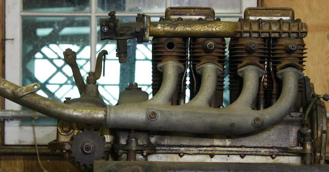 A NoS four-cylinder ACE/Henderson engine,