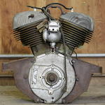 A NoS Indian Sport Scout/741 engine,