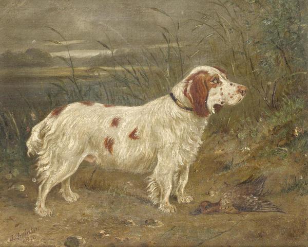 J. Quinton (British, 19th Century) Charles 10 1/8 x 12 in. (25.5 x 30.5 cm.)