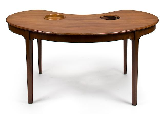 A George III mahogany wine table <BR />fourth quarter 18th century