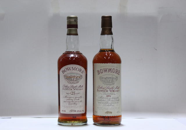 Bowmore Vintage-1974Bowmore-25 year old