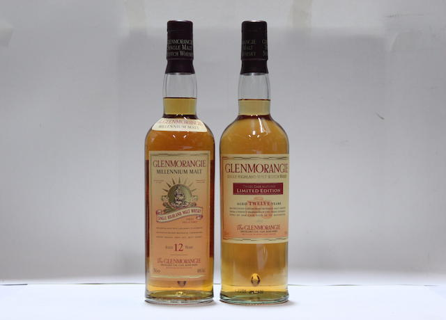 Glenmorangie Millennium Malt-12 year old (3)   Glenmorangie Three Cask Matured-12 year old (3)