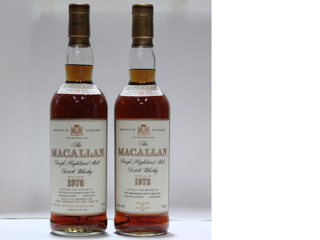 The Macallan-18 year old-1973The Macallan-18 year old-1976
