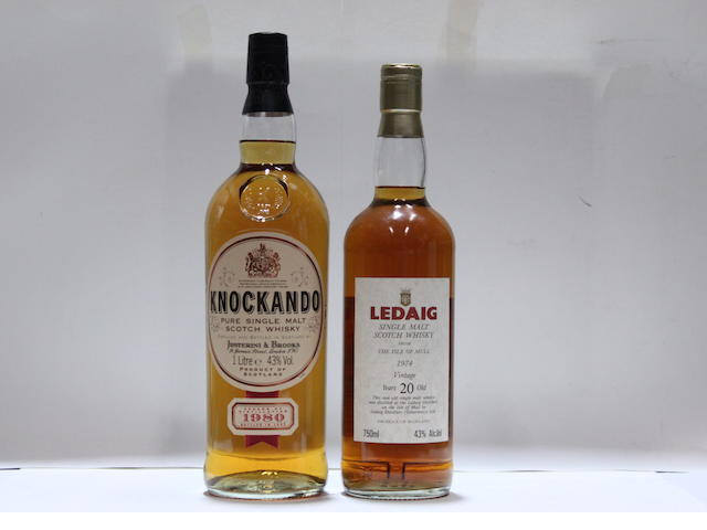 Knockando-1980Ledaig-20 year old-1974