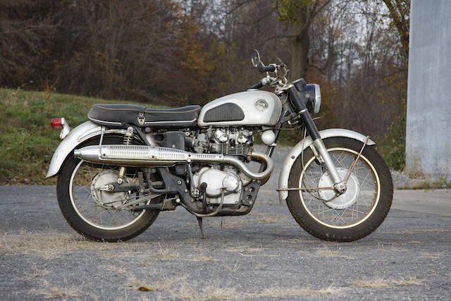 1966 Honda  Frame no. CB4501003738