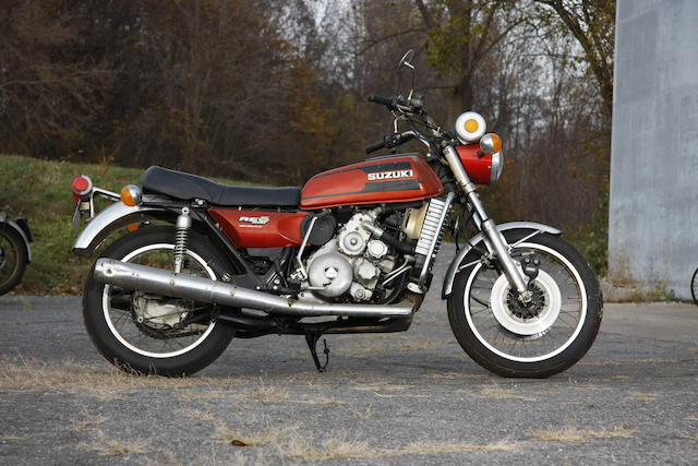 1975 Suzuki 497cc RE5 Engine no. RE5 11068