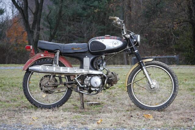 c.1965 Honda CS90 Frame no. S90116632