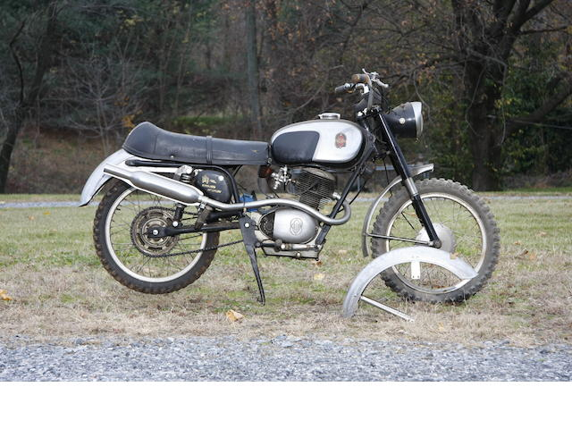 1967 Gilera Strada Speciale Frame no. 10191700