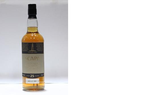 Scapa-25 year old-1980