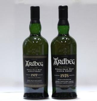 Ardbeg- 1977  Ardbeg- 1978