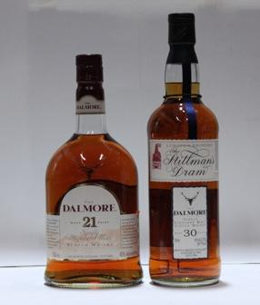 Dalmore- 21 year old  Dalmore- 30 year old
