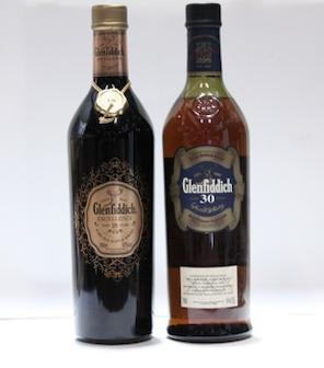 Glenfiddich- 18 year old  Glenfiddich- 30 year old