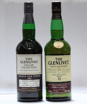 Glenlivet- 15 year old  Glenlivet- 1983