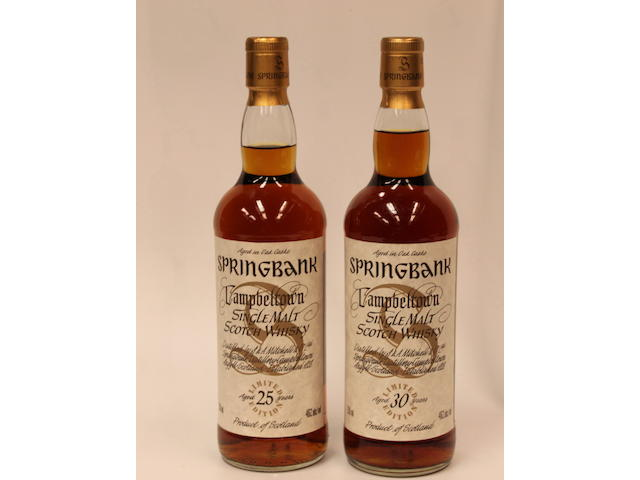Springbank-25 year old (3)Springbank-30 year old