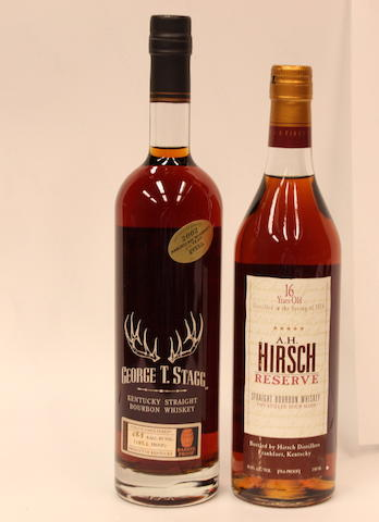 A.H. Hirsch Bourbon-16 year old -1974  George T. Stagg Bourbon