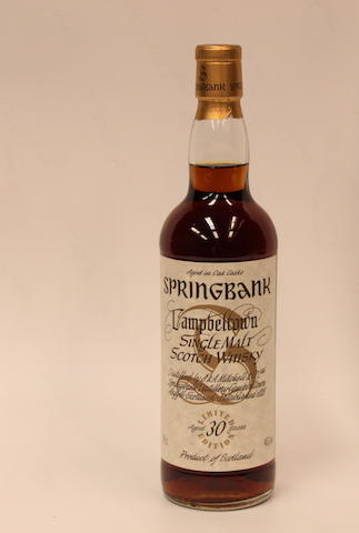 Springbank-30 year old