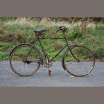 An English lightweight bicycle,
