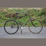 "A fine and rare Columbia ""Shaft-Drive"" Roadster bicycle,"