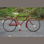 An English-made Dunelt child's bicycle,