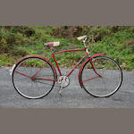 An English three-speed bicycle,