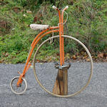 An Old England child's penny farthing (high wheeler) bicycle,