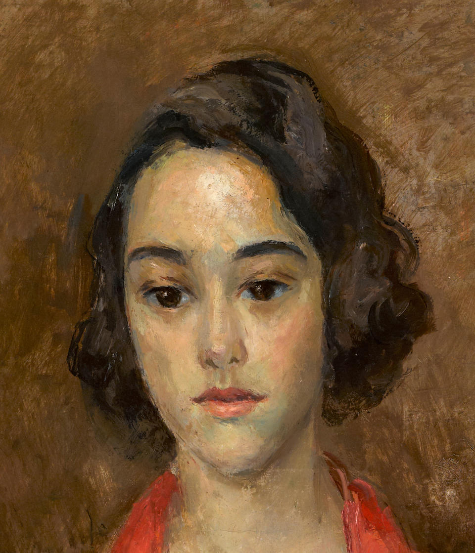 Robert Rafailovich Falk (Russian, 1886-1958) Portrait of Miss Alice Dollar
