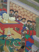 Anonymous (Joseon dynasty, late 19th century)  Tribute Mission to the Chinese Court