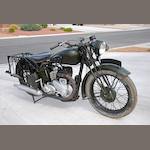 1945 BSA M20 Frame no. WM20101223