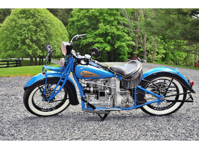 1937 Indian Four Model 437 Frame no. DCG443M