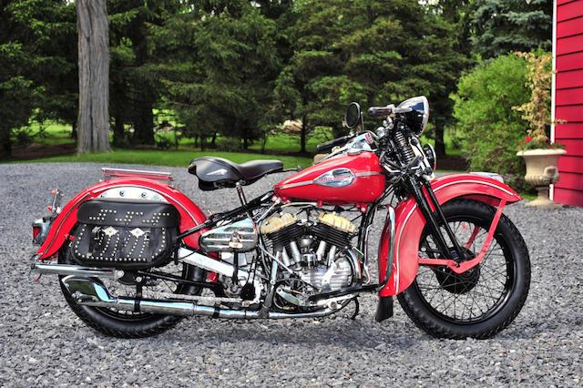 1941 Harley-Davidson WL Frame no. 41WL1989
