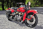 1941 Harley-Davidson WL Engine no. 41WL1989