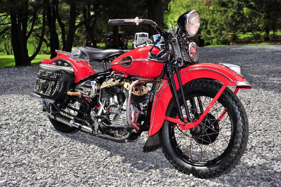 1941 Harley-Davidson WL Engine no. 41WL1989