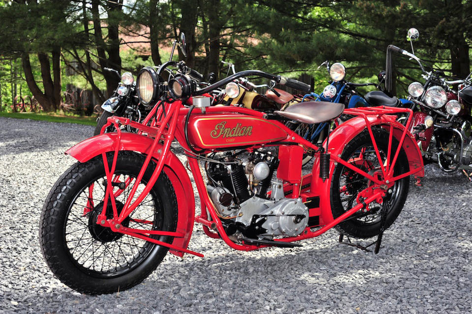 1928 Indian Chief  Engine no. CH152
